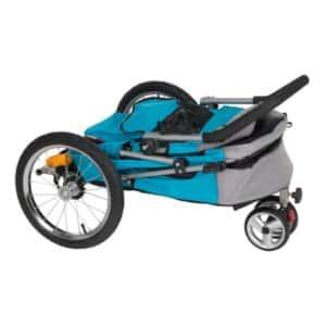 ihopfällbar cykelvagn